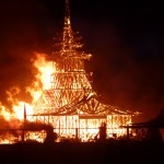 The Temple burning and the end of Burning Man